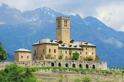 Sarre Castello Royaltyfri Bild