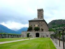 Sarre castle, Italy Stock Photo
