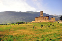 Sarre castle, Italy Stock Images