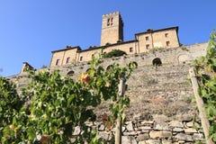 Sarre Schloss, Italien Stockfoto