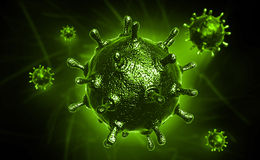 Sars virus Stock Photos