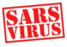 SARS VIRUS Stock Photography
