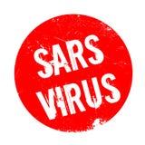 Sars Virus rubber stamp Stock Photo