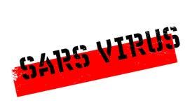 Sars Virus rubber stamp Stock Photos