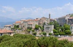 Sartène, Córcega Fotos de archivo libres de regalías