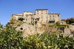 Sartène, Córcega, Francia Fotos de archivo libres de regalías