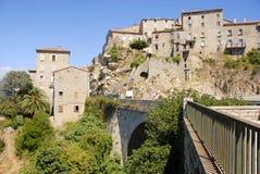 Sartène, Córcega, Francia Fotografía de archivo