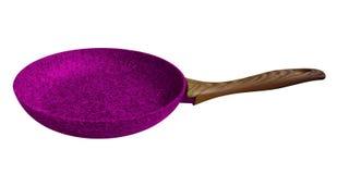 Sartén - violeta fotos de archivo