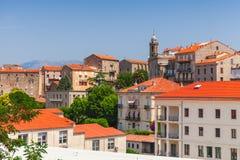 Sartene, Corsica island, France. Ancient town Stock Photos