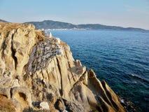 Sarti海岸 免版税库存图片