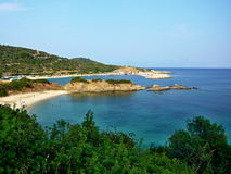 Sarti海岸 库存照片