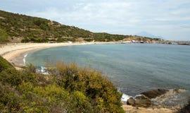Sarti beach panorama Stock Photos
