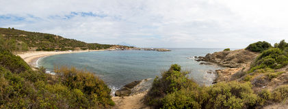 Sarti beach panorama Royalty Free Stock Images