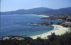 Sarti beaches Stock Photography