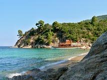 Sarti-Robonson海滩 免版税库存照片