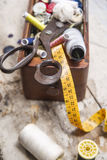Sarto degli accessori Fotografia Stock