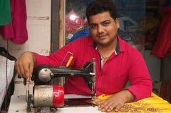 Sarto indiano locale fotografia stock libera da diritti