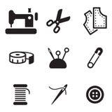 Sarto Shop Icons Immagine Stock Libera da Diritti