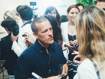 The Sartorialist' creator Scott Schuman. FLORENCE,ITALY-JUNE,16: The Sartorialist' creator Scott Schuman invited at pitti on the 16th of june 2010 in Florence Royalty Free Stock Photography