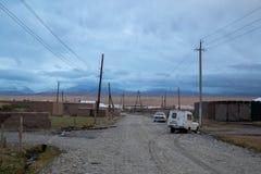 Sary-кочка в южном Кыргызстане стоковое фото