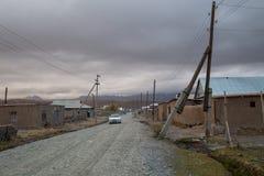 Sary-кочка в южном Кыргызстане стоковые фотографии rf