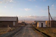 Sary-кочка в южном Кыргызстане стоковые изображения rf