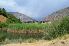 Sary-Chelek, Kirghizistan Image libre de droits