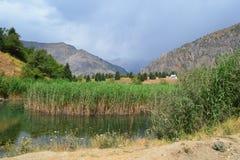 Sary-Chelek Kirgizistan Royaltyfri Bild