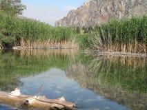 Sary-Chelek Lake. Freshwater lake in Kyrgyzstan Royalty Free Stock Photos