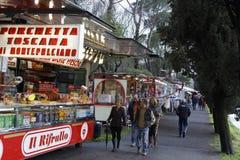 De Markt van maart in Sarzana Royalty-vrije Stock Foto's