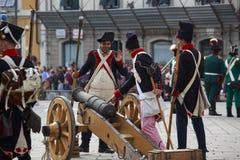 Sarzana Napoleon festival Royalty Free Stock Photography