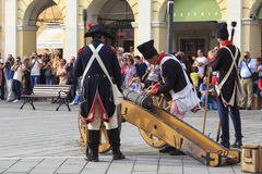 Sarzana Napoleon festival Stock Photos