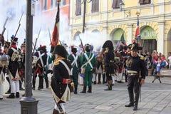 Sarzana Napoleon festival Royalty Free Stock Image