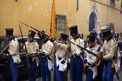 Sarzana Napoleon festival Royalty Free Stock Photos