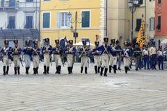 Sarzana Napoleon festival Royalty Free Stock Photo