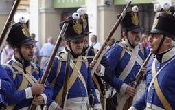 Sarzana Napoleon festival Royalty Free Stock Images