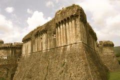 Sarzanello fortress Liguria Italy Stock Photo