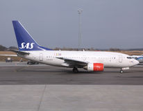 SAS Airlines - Boeing 737 Stock Photos