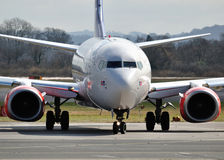 SAS Boeing 737 Commercial airliner Stock Photography