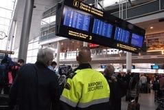 SAS CANCELLED INTERNTIONAL FLIGHTS. KASTRUP/COPENHAGEN/DENMARK. 28 February 2015 -  SAS Scandinavian airlines has cancelled amny intnerational flights from Royalty Free Stock Photography