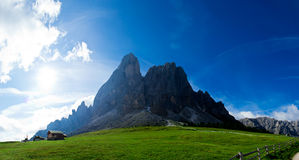 Sas de Putia, Alto Adige Royalty Free Stock Photo