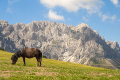 Sas de Putia,funes valley,south tyrol,Italy Royalty Free Stock Photos