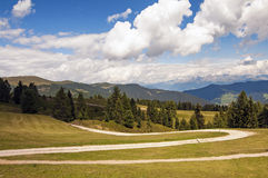 Sas de Putia,funes valley,south tyrol,Italy Royalty Free Stock Image
