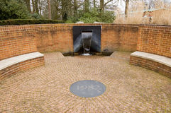 SAS Falkland Island Memorial Fountain, Pangbourne Royalty Free Stock Image