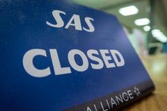 SAS fermée Photos stock