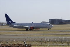 SAS FLIGHT Stock Photo