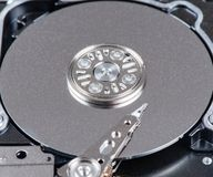 SAS Hard disk read and write head royalty free stock photos
