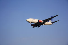 SAS Scandinavian Airlines aircraft Stock Image
