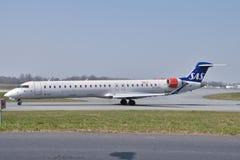 SAS Scandinavian plane Stock Photography