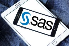 SAS software logo Royalty Free Stock Images